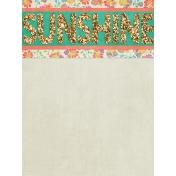 Garden Party- Journal Card 9