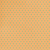 Garden Party- August 2014 Blog Train- Orange Ornamental Paper 2
