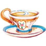 Garden Party- August 2014 Blog Train- Teacup 1