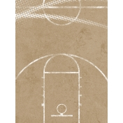 Basketball Card 3x4 Court