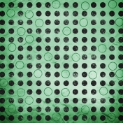 Color Basics Paper Circles Dark Green