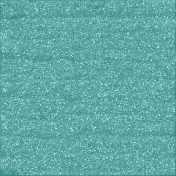 Color Basics Paper Glitter Aqua