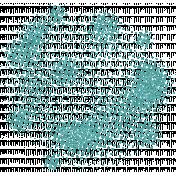 Color Basics Scattered Dots 02 Glitter Aqua