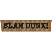Basketball Tape Slam Dunk