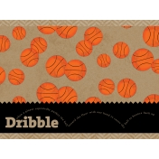 Basketball Card 4x3 Dribble