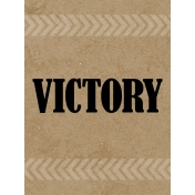 Sports Card 3x4 Victory