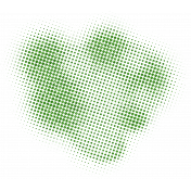 Color Basics Scattered Dots 01 Glitter Light Green
