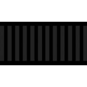 Color Basics Ribbon Black