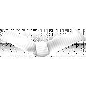 Color Basics Ribbon Knot White