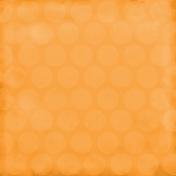 Color Basics Paper Circles Big Orange