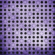 Color Basics Paper Circles Purple
