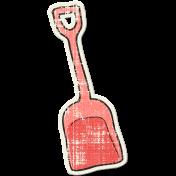 Tropics Sticker Shovel