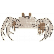 Tropics Sticker Crab
