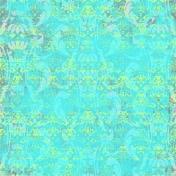Tropics Paper Damask Green