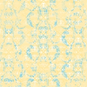 Tropics Paper Damask Yellow