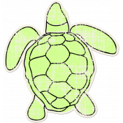 Tropics Sticker Turtle