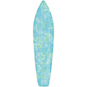 Tropics Sticker Surf Board