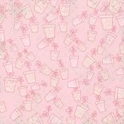 Mom Paper Pots Pink