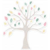 Mom Tree Sticker