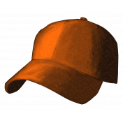 Baseball Hat Orange