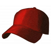 Baseball Hat Red