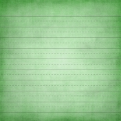 School Paper Lined Green