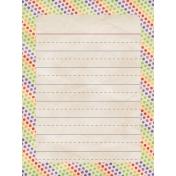 School 3x4 Card 01 Blank