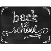 School Word Art Back To School