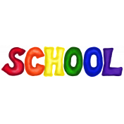 School Word Art School