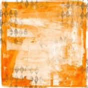 Football Paper Paint Orange