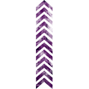 Football Stamp Chevron Purple