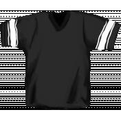 Football Jersey Black