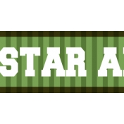 Football Ribbon All Star