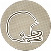 Football Sticker Helmet 01