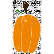 Spook Pumpkin Tall