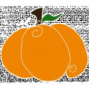 Spook Pumpkin Wide