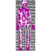 Spook Skeleton Purple