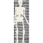 Spook Skeleton White