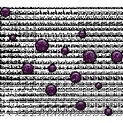 Spook Dots Glitter Purple