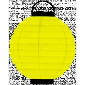 Spook Lantern Yellow