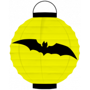 Spook Lantern Yellow Bat