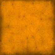 Spook Paper Webs Orange