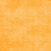 Spook Paper Damask 001 Distressed Orange