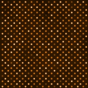 Spook Paper Dots Brown