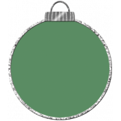 Touch of Sparkle Christmas Ornament Green 02