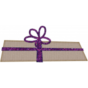 Touch of Sparkle Christmas Gift Purple