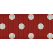 Encourage Ribbon Thin Red 02