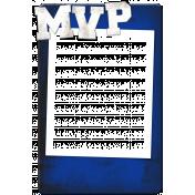 Sports MVP Card- Blue