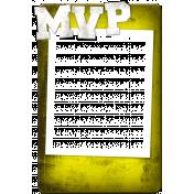 Sports MVP Card- Yellow