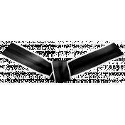 Ribbon Knot- Black